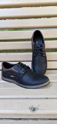 Мужские туфли , натуральна кожа весна -осень