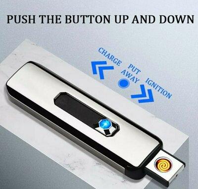 Продано: USB зажигалка спиральная LIGHTER FIRE, юзб запальничка