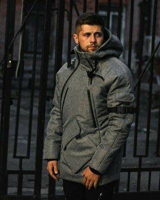 Зимняя куртка LC - Smart серая