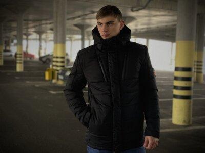Зимняя Куртка Everest Intruder черная