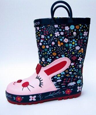 Резиновые сапоги от торговой марки WINK для девочки 29 - 35 размер