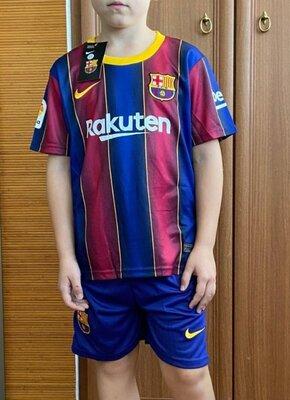 Футбольная форма Барселона 20/21 детская гетры Барселона