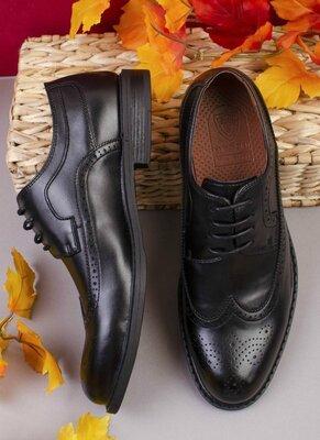 Продано: Мужские черные туфли