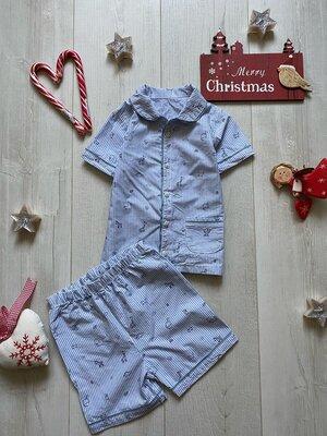 Пижама в полоску 18-24 месяца