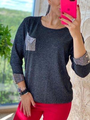 Классный свитерок стразы- нарядный и красивый 3 цвета