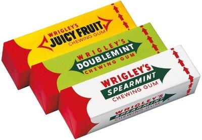 Жвачки Wrigley's Doublemint 7 Pack Ригли Даблминт Вриглис Германия Жевательные резинки в пластинках