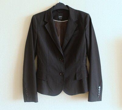 Стильный деловой пиджак жакет блейзер Еsprit клубный школа офис институт классика