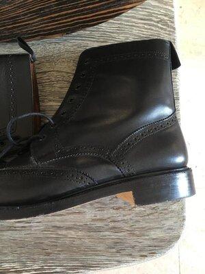 Ботинки Броги Grafters Leather Brogue р 43/44
