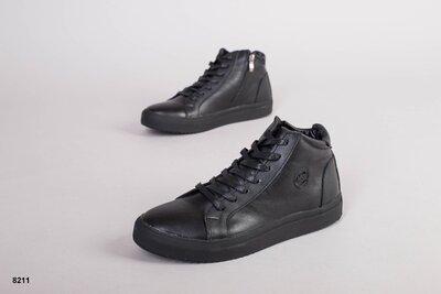 Код 8211 з Мужские зимние ботинки Размеры 40-45 Сезон зима Материал натуральая кожа Внутри полу
