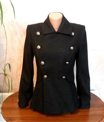 Темно - серый пиджак, блейзер, жакет из шерсти с ангорой и кашемиром Ralph Lauren