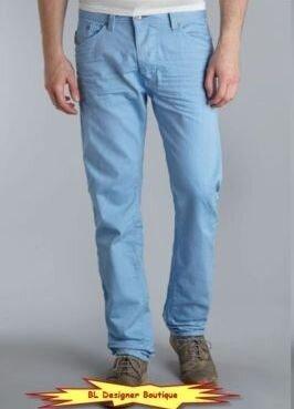 Новые голубые плотные джинсы Diesel р. 48-50 34/34 Марокко