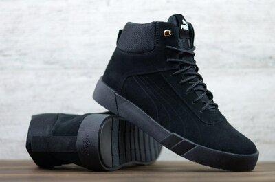 Мужские зимние кожаные ботинки P1-2