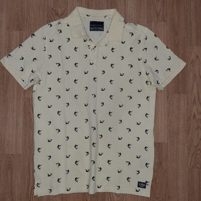 Классная новая мужская футболка поло Angelo Litrico от C&A р.48 М хлопок