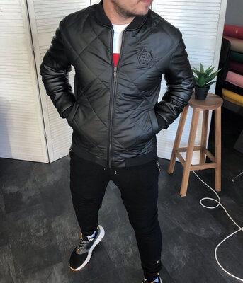 Мужская куртка- бомбер осенняя Phillip Plein