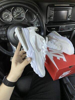 Мужские кроссовки Найк Nike Air Max 270, Топ качество, белые, р. 36-45, 002-2162