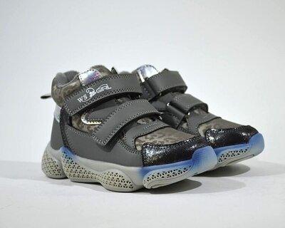 Уцінка демі черевики WeeSTEP деми ботінки ботинки сірий р.27-32