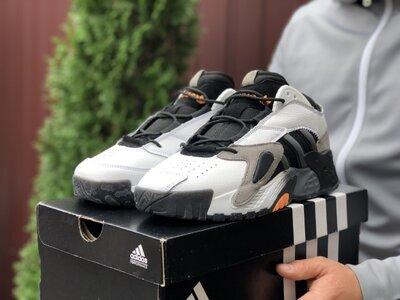 Кроссовки мужские Adidas Streetball, белые 9864