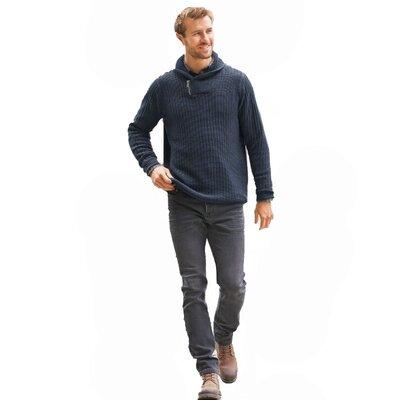 Серые джинсы из плотной ткани М livergy германия