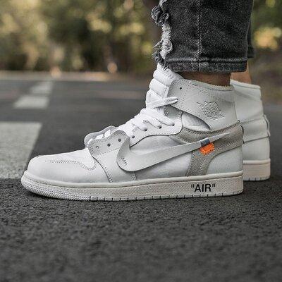 Кроссовки Nike Air Jordan Retro 1 x Off white.Купить найк недорого в Украине.