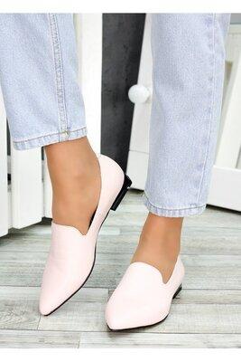 Туфли лодочки пудра кожа Magic 7484-28. Выполнены из натуральной кожи. Классическая модель элегантн