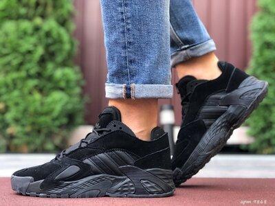 Adidas Streetball кроссовки мужские демисезонные черные 9868