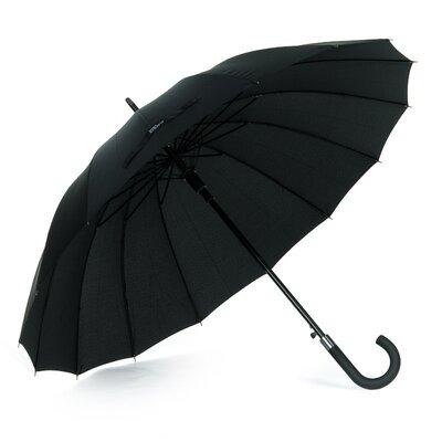 Мужской зонт-трость черный