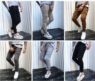 штаны Карго , 2 модели, 4 цвета