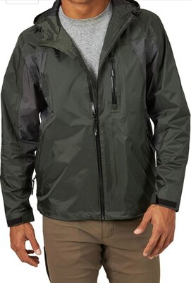 Дождевик Wrangler Men's Rain Jacket Royal Forest Night куртка штормовка . Сша, оригинал.
