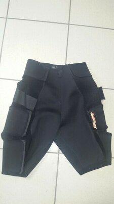 Фитнес неопреновые шорты abc-one slim back & legs