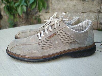 Замшевые туфли Rieker 44 р