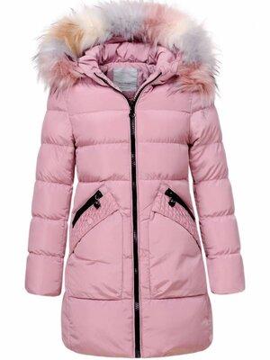 Низкая цена-супер качество теплые куртки для девочки Венгрия