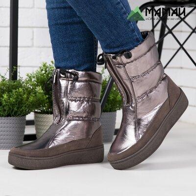 Акція Дутіки жіночі -20°C / Дутики женские сапоги ботинки угги 246