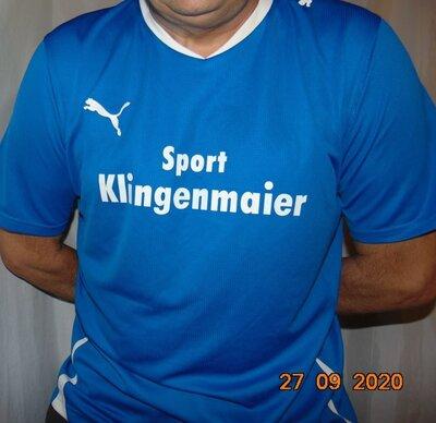 Спортивная фирменная футболка .Puma Пума .хл-2хл