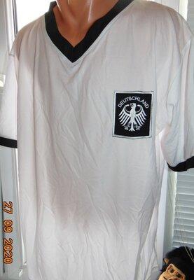 Спортивная футбольая футболка зб Германии Deutschland .хл-2хл .
