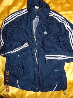 Спортивная оригинальная курточка ветровка Adidas Адидас .2хл-хл .