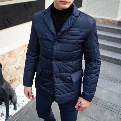 Куртка-Піджак Pobedov Jacket Dollar Bill темно-синій