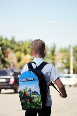 Рюкзак ранец школьный детский Майнкрафт Minecraft розница и опт
