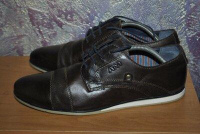 Мужские кожаные туфли AM,размер 43
