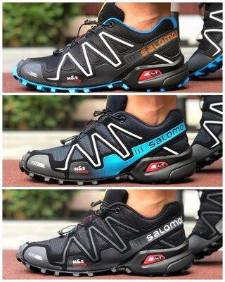Кроссовки мужские для бега и занятий спортом Salomon Speedcross 3 р. 41-45