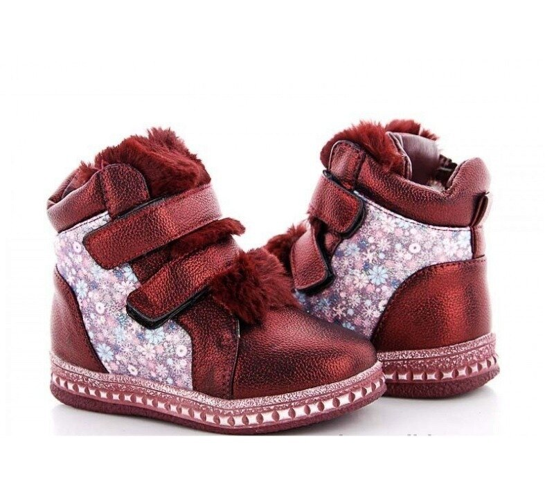 Зимние ботинки для принцесс 26-32р: 260 грн - зимняя обувь в Одессе, объявление №27185582 Клубок (ранее Клумба)
