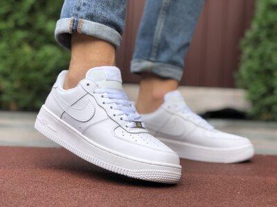 Кроссовки мужские Nike Air Force 1, белые 41-45р