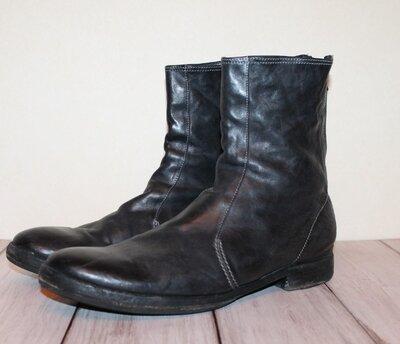 Premiata мужские кожаные ботинки 100% натуральная кожа 45-46 размер