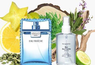 Versace Man Eau Fraiche 110 мл мужская парфюмированная вода