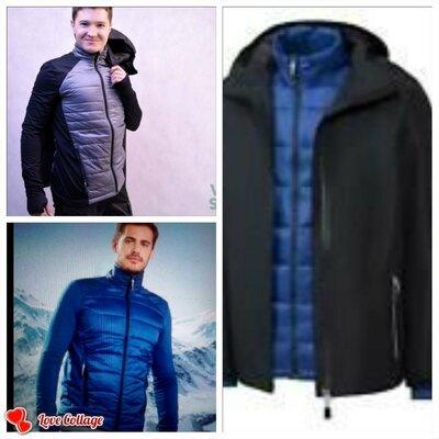 Мультифункціональна куртка ветровка 2 в 1 Crivit 48, 50, 52