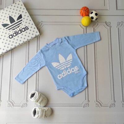 Хлопковый бодик Adidas