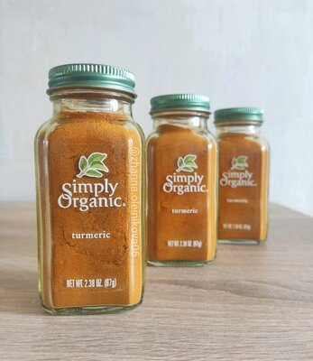 Продано: Simply Organic, Куркума, 67 гр