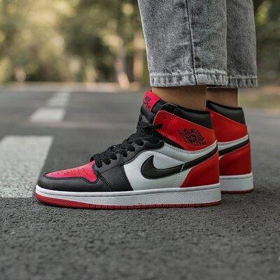 Высокие мужские кроссовки Найк Nike, отличное качество, разноцвет, р. 36-45, 003-619