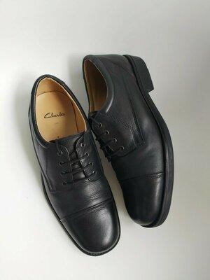 Продано: Кожаные туфли Clarks,42 размер.