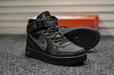 Nike Air Force Black Gray WNTR