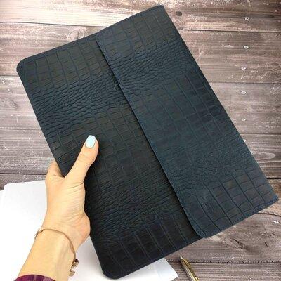 Папка-Конверт для документов кожаная а4 crez-801